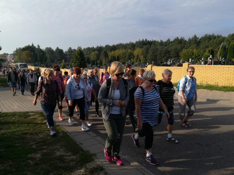 Piesza Pielgrzymka do Krypna (08.09.2018)